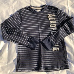 Striped Navy Blue Thermal